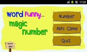 Screenshot of 123 Magic Number Quiz