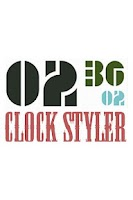 Screenshot of Clock Styler FREE