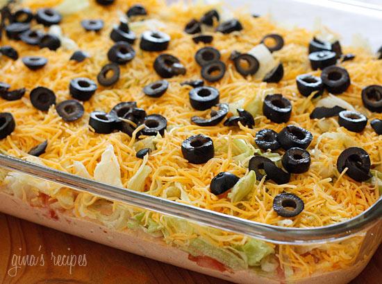 skinny taco dip from skinnytaste added by tanya 946