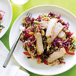 Asian Peanut Slaw with Pork