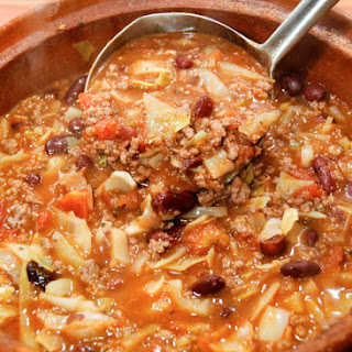 Super Easy Beef And Cabbage Soup