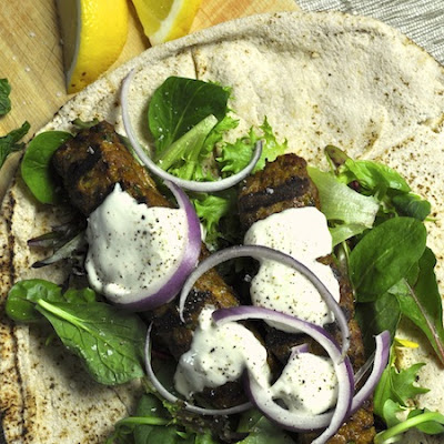 Lamb Koftas With Yoghurt Dressing