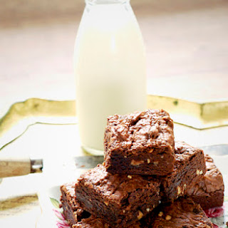 Chocolate Brownies With Peanut Butter Recipes