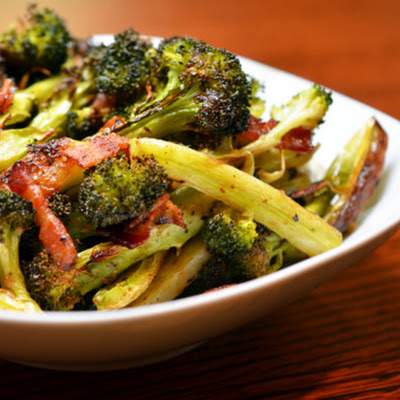 Roasted Broccoli & Bacon