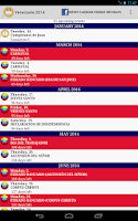 Screenshot of Calendario Feriados Venezuela