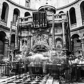 ghosts of the Holy Sepulchre by Sergo Israel - Buildings & Architecture Public & Historical ( church, holy, ghost, people )