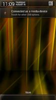 Screenshot of Laser Orange CM11/AOKP Theme