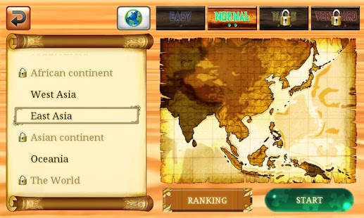 World Puzzle for Tablet - screenshot