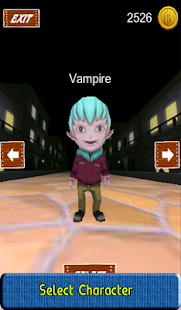 Vampire Run Game - screenshot