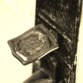 """The door handle is the handshake of the building."" by Nicole Samson-Savoury - Novices Only Objects & Still Life"