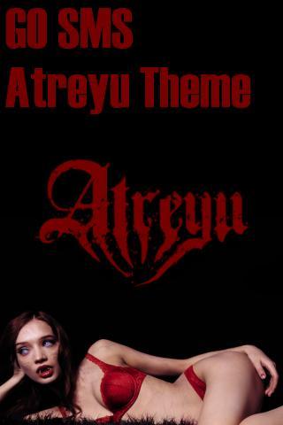 GO SMS Pro Atreyu Theme