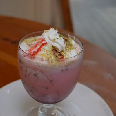 Indian Summer falooda float
