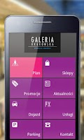 Screenshot of Galeria Krakowska - mobile app