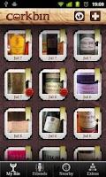 Screenshot of Corkbin for Wine