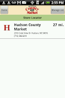 Screenshot of Hudson County Market