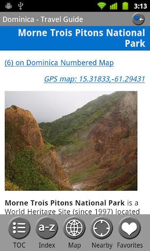 【免費旅遊App】Dominica - FREE Travel Guide-APP點子
