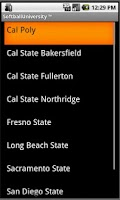 Screenshot of Softball University