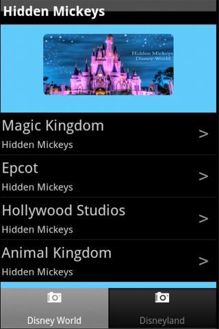 Hidden Mickeys: Disney Parks