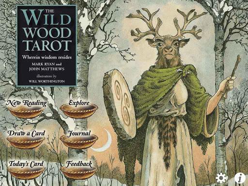 Wildwood Tarot - screenshot