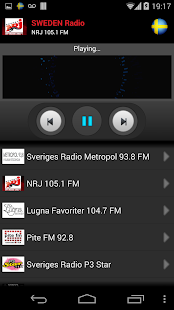 RADIO SWEDEN - screenshot