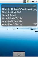 Screenshot of Simple Calendar FREE