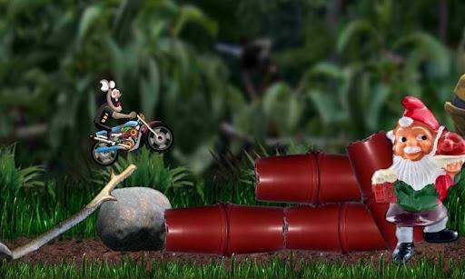 越野摩托車賽 - 心理鼠標