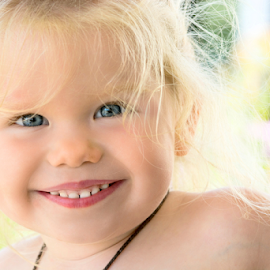 A Child's Smile by Janet Lyle - Babies & Children Toddlers ( child, children, toddler )