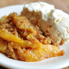 Peach Brown Betty
