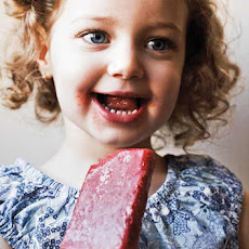 Strawberry Ice Pops