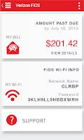 Screenshot of Verizon My FiOS