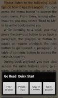 Screenshot of Go Read