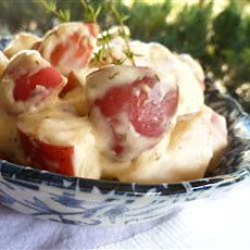 Creamy Red Potatoes