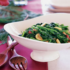 Sautéed Broccoli Rabe with Garlic and Chiles (Rape Fritte)