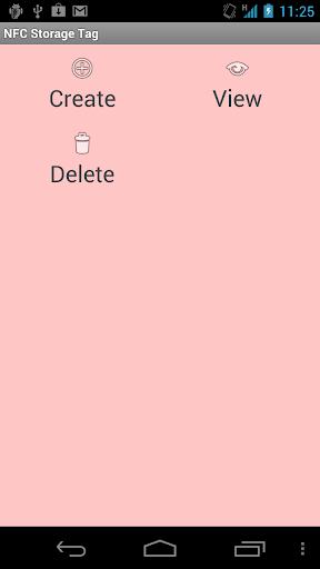 NFC Storage Tag