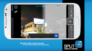 Screenshot of Split Video and Camera