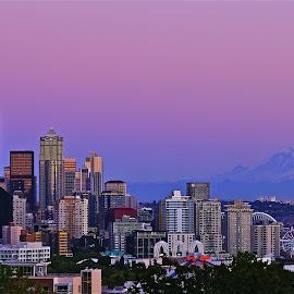 Seattle Magic by Sim Kim Seong - City,  Street & Park  Skylines
