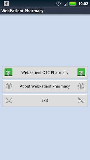 Webpatient Pharmacy