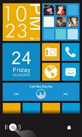 Screenshot of Color box Plus GO Locker Theme