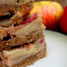 Sticky Apple Bars