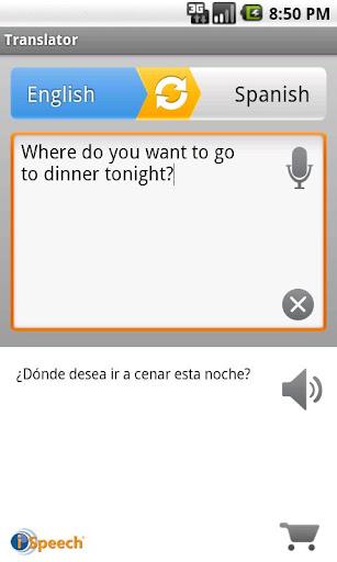 iSpeech Translator