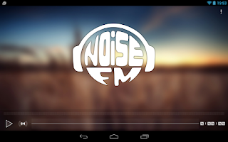 Screenshot of Radio Noise FM