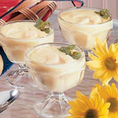 Banana Custard Pudding