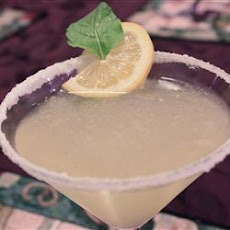 Lemony Lemon Drop Martini
