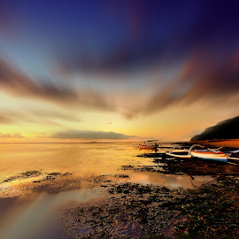 when the morning has come by Arek Embongan - Landscapes Sunsets & Sunrises