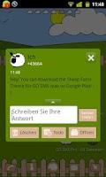 Screenshot of Sheep Farm Theme GO SMS