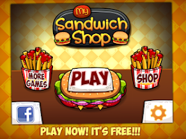 Screenshot of My Sandwich Shop - Kids Game