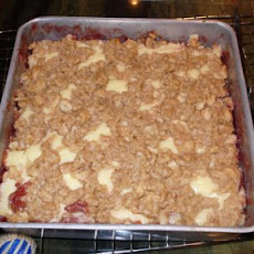 Raspberry-Cheese Cookie Bars