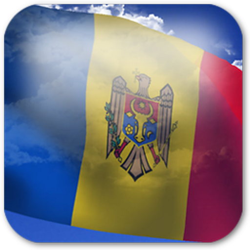 3D Moldova Flag LWP + LOGO-APP點子