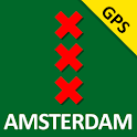 Amsterdam, The Map GPS icon