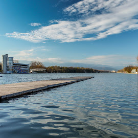 Plovdiv by Daniel Chobanov - Landscapes Waterscapes ( water, plovdiv, rowing, channel, bulgaria )